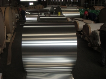 Aluminum PVDF coated coil 3004, Aluminum coil for car parts 3004