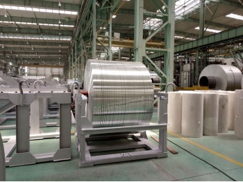 Aluminum coated strip 3003 on sale, Aluminum coating strip 3003