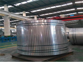 Checked aluminum coil and sheet