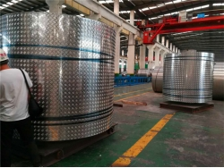 China Aluminum PVDF coated coil manufacturer, Aluminum PE coated coil manufacturer china factory