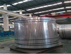 China Checked aluminum coil and sheet factory